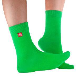 Grön strumpa