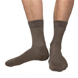 Brown socks from Tag Socks