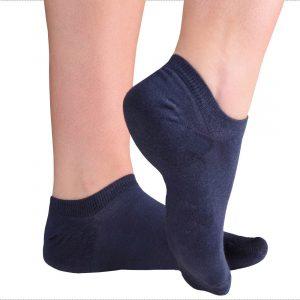 Blue sneaker socks from tag Socks